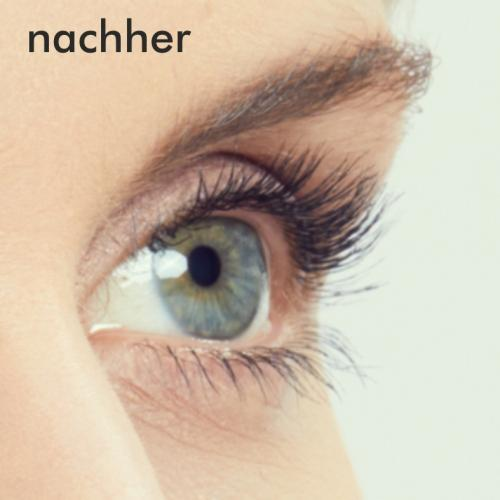 Wimpernwelle Power-pad Nachher
